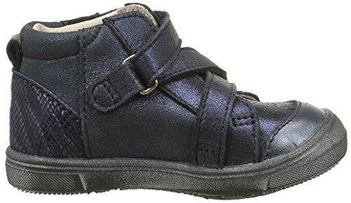 Catimini Monarque, Baskets Hautes Fille Bleu (12 Vte Bleu/Or Dpf/Gluck)