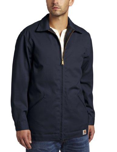 Carhartt J293 Twill Work Jacket, Größe_Bekleidung:M;Carhartt_Farbe:navy (Twill-hose-mantel)
