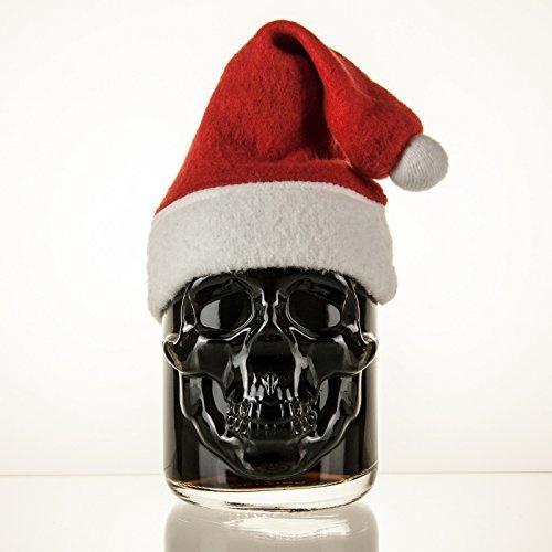 Preisvergleich Produktbild Limitierte Weihnachtsedition Black Head Absinthe 0,5l - 50 cl - 55% vol. Alc. - inkl. Weihnachtsmütze
