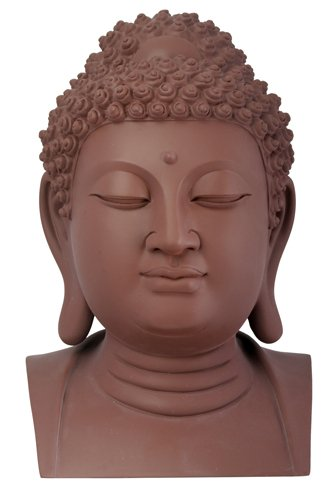 Summit stealstreet Yixing Clay Buddha Head Buddhismus Figur