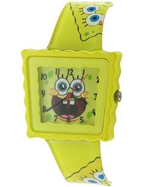 Spongebob Squarepants Unisex-Armbanduhr Analog Formgehäuse gelb SB39/B