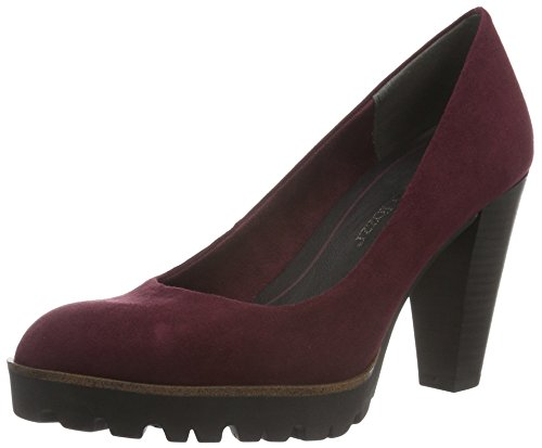 Marco Tozzi Damen 22424 Pumps Rot (Bordeaux 549)