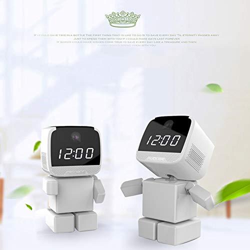 Dalun Drahtlose Überwachungskamera Nettes Haustier Aussehen Intelligente Uhr Überwachung von Pflegeeinrichtungen HD-Fernbedienung Zwei-Wege-Audio-Nachtsichtfunktion Diagonale Audio