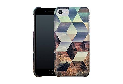 Handyhülle mit Designs für Ihn: iPhone 7 Hülle / aus recyceltem PET / robuste Schutzhülle / Stylisches & umweltfreundliches iPhone 7 Case - Apple iPhone 7 Schutzhülle: Glyzbryks von Spires Syylvya Rrkk von Spires