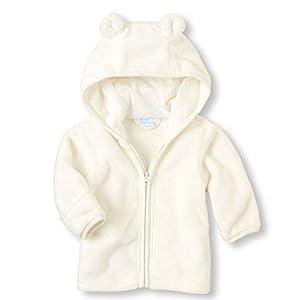 Chaquetas Ropa Bebé, LANSKIRT Recién Nacido Bebé Niño Niña Abrigo con Cremallera Paño Grueso y Suave Coralino Chaqueta… 5