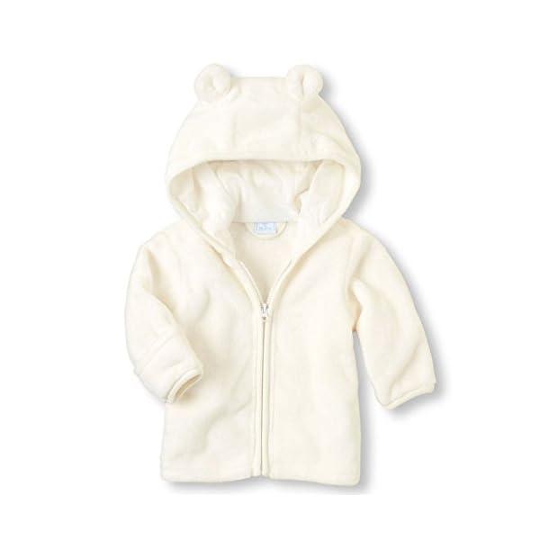 Chaquetas Ropa Bebé, LANSKIRT Recién Nacido Bebé Niño Niña Abrigo con Cremallera Paño Grueso y Suave Coralino Chaqueta… 1