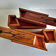 Lámpara extensible de madera reciclada de palet, para escritorio ...