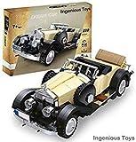 Ingenious Toys  Modelo Creator - Rolls-Royce Noble - Coche Clásico / 810 Piezas Construcción Juego #03xx7