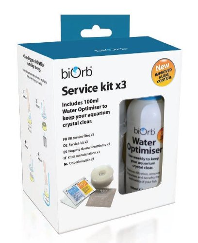 biOrb Service Kit with Water Optimiser (Pack of 3) Test