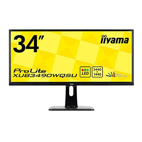IIYAMA Prolite XUB3490WQSU-B1 34-Inch Monitor