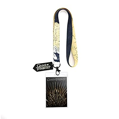 Game of Thrones Iron Throne Lanyard