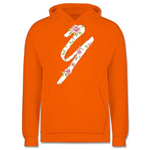 Anfangsbuchstaben - Y Rosen - Männer Premium Kapuzenpullover / Hoodie Orange