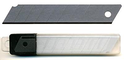 100 Abbrechklingen 18 mm 0,5 mm für Cuttermesser, Ersatzklingen, eisgehärtet von SBS bei TapetenShop