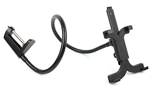 Bendy Armed Desk Mount Tablet Stand in Black for the Lenovo LifeTab E10511 (MD 60637) – by DURAGADGET