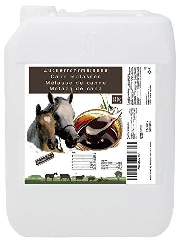 Molasses Zuckerrohrmelasse 14 kg, hoher Energiewert, Tierverwendung, empfohlen für Pferde. Produkt CE
