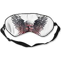 Sleep Eye Mask Skulls Gums Wing Lightweight Soft Blindfold Adjustable Head Strap Eyeshade Travel Eyepatch E12 preisvergleich bei billige-tabletten.eu
