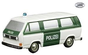 Schuco 450512100  - Modelo de colección de vagón de policía Modelo Piccolo