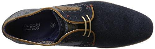 Bugatti 311151021400, Derby Homme Bleu (Dark Blue 4100)