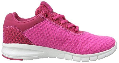 Lonsdale Tydro, Scarpe da Corsa Donna Pink (Pink/Beetroot)