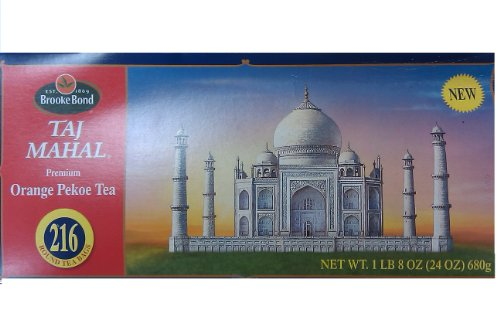 brooke-bond-taj-mahal-premium-orange-pekoe-black-tea-216-round-tea-bags