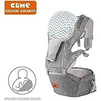 Bable Babytrage/Kindertrage Bauchtrage Ergonomisch Trage für Wanderung, Shopping Rückentrage Hüfttrage