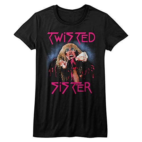 Twisted Sister - Twisted Sister - Twisted Dee T-Shirt für Junge Frauen, Large, Black (Twisted Sister-t-shirt)