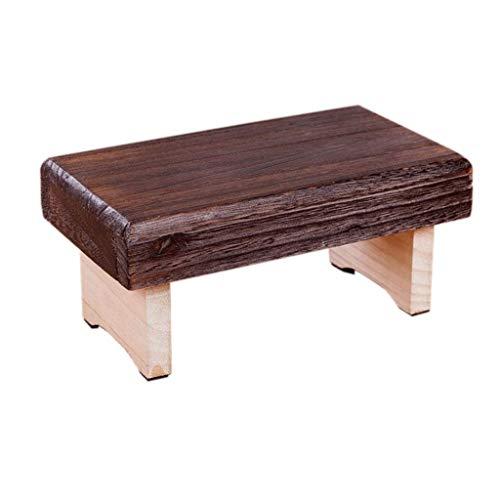Willsego sgabello basso pieghevole da esterno in legno portatile poggiapiedi da banco con 4 gambe per bambini (colore : -, dimensione : -)
