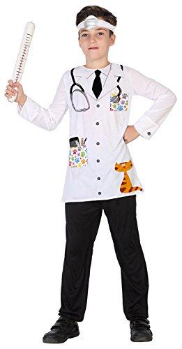 Atosa 39425 Tierarzt Kostüm, 140 (Tierarzt Kostüme Kinder)