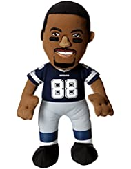 NFL Dallas Cowboys Dez Bryant Player Plush Doll, 6.5-Inch x 3.5-Inch x 10-Inch, Blue