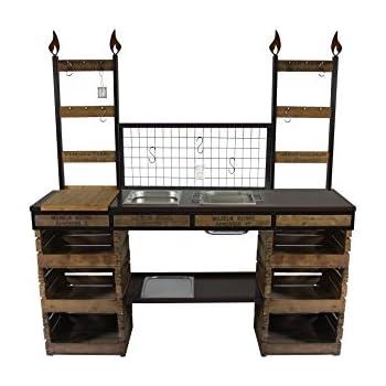 toskana quatro grillkamin au enk che wellfire wellfire garten. Black Bedroom Furniture Sets. Home Design Ideas