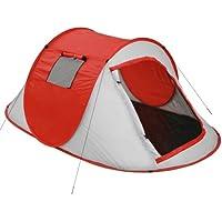 Jago Strandmuschel Campingzelt   Pop-Up Wurfzelte für 2 Personen ca. 219x130x82 cm, UV Schutz   Minipackmaß, Strandzelt, Sonnenschutz