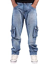 Peviani - Jeans - Homme Bleu Stone Wash Blue