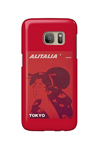 alitalia-tokyo-vintage-poster-italy-c-1960-galaxy-s7-cell-phone-case-slim-barely-there