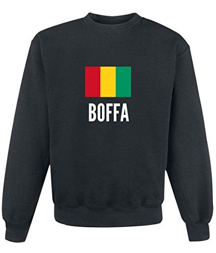 Felpa Boffa city Black