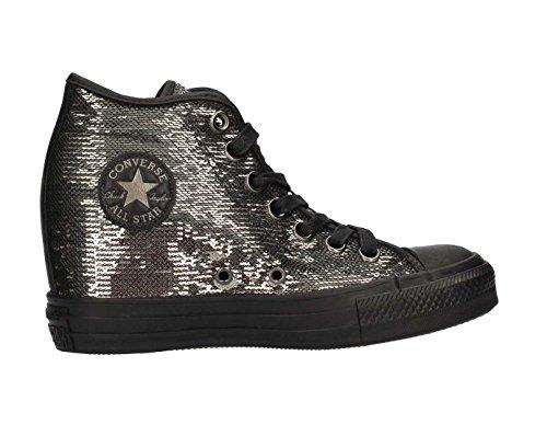 CONVERSE Ctas Lux Mid Sneakers Nero Metallic Silver 559048C Black
