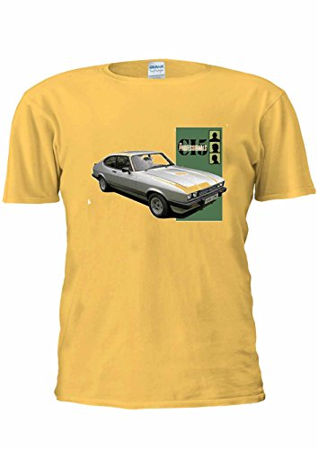 Men's The Professionals Bodie's Ford Capri Mark III T-shirt in many colours
