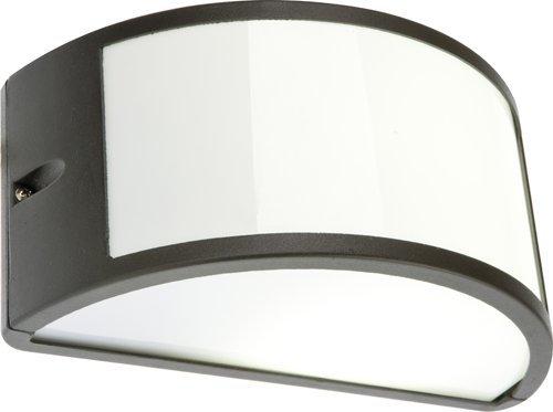Foto Plafoniere Da Esterno : Lampada applique nera plafoniera da esterno mezzaluna cm faretto