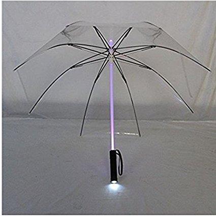 Leichter Regenschirm mit LED-Beleuchtung wie aus dem Film Blade Runner, perfektes Geschenk