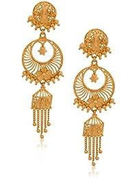 Senco Gold 22k Yellow Gold Drop Earrings for Women