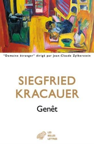 Genêt: Par lui-même par Siegfried Kracauer