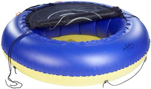 infactory Wassertrampolin: 4in1-Trampolin für Wasser und Garten (Aufblasbares Trampolin) - 2