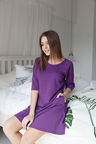 WEWINK CUKOO -  Camicia da notte  - Donna Purple