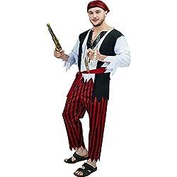 Disfraz para hombre de corsario.