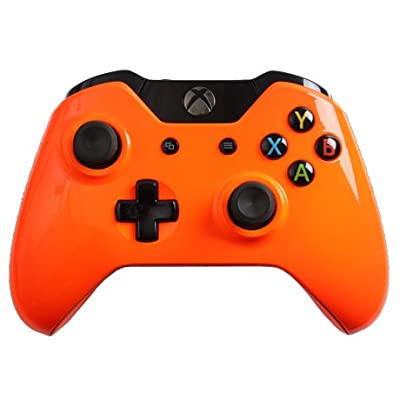 Custom XBOX ONE Controller - Glossy Orange