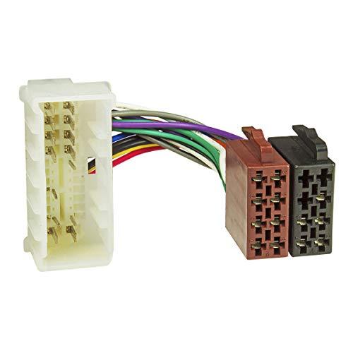 A partir de{2005} radio-Cable Adaptador KIA, Hyundai a partir de{2005} en ISO-Norm