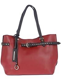 Fur Jaden Maroon Women's Tote Handbag For Women With Sling Bag Combo