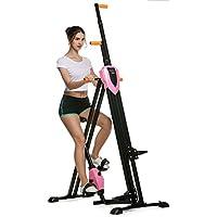 Preisvergleich für Bunao Innovativer 2in1 Stepper & Vertical Climber Fitness - Klettern - Kletterbewegungen, klappbar