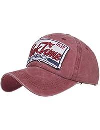 Amazon.es  gorras planas - Gorras de béisbol   Sombreros y gorras  Ropa 7204bafcb5f