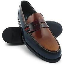 Zerimar Zapatos Castellanos Hombre | Mocasin Antifaz Hombre | Mocasines Hombre | Zapatos Hombre Vestir