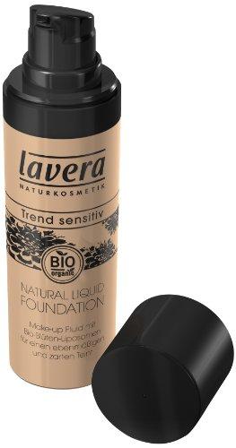Lavera Natural liquid Foundation - Ivory 02, 30 ml (Liquid Natural Foundation)